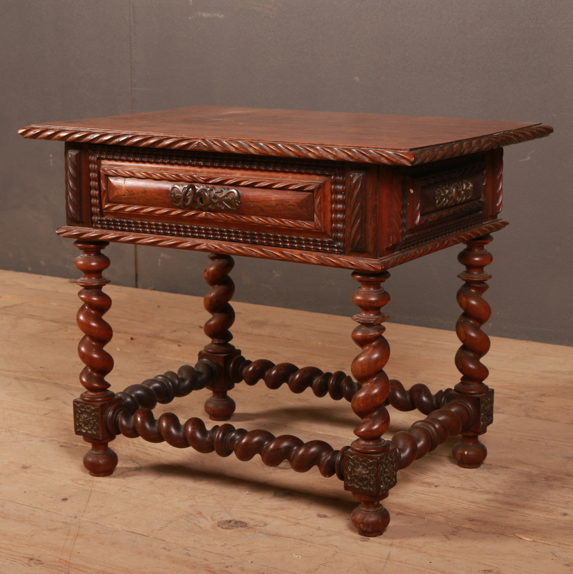 Portuguese Rosewood Side Table