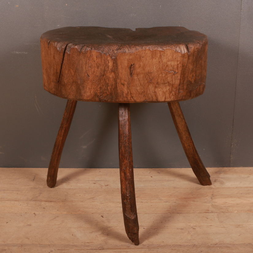 Primitive French Side Table