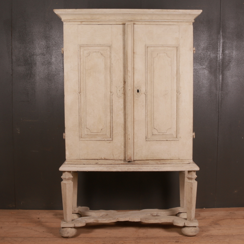 Swedish Painted Cabinet