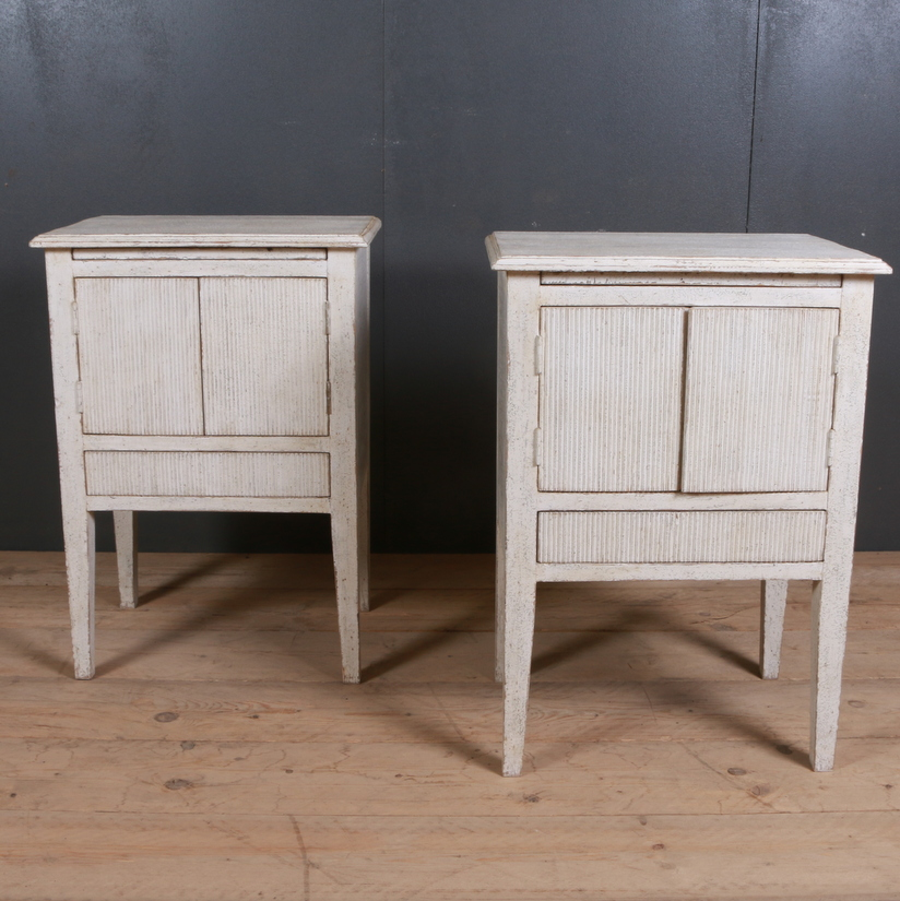 Swedish Style Bedside Cupboards
