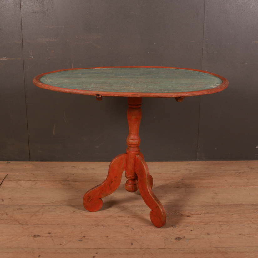 Swedish Tilt Top Table