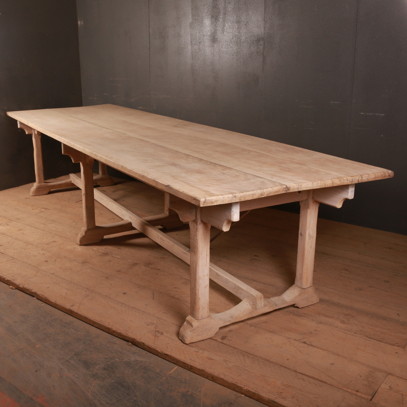 Sycamore and Pine Refectory Table