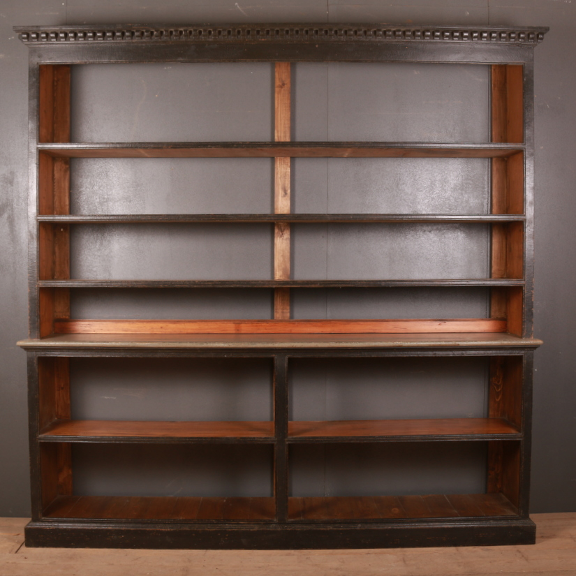 Unusual Open Bookcase