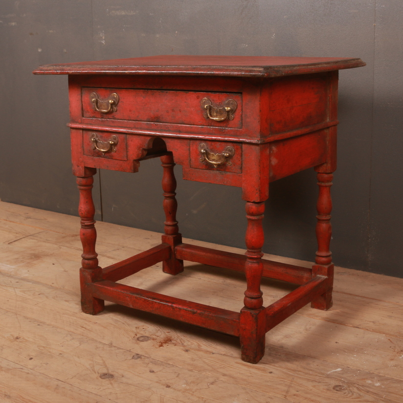 Unusual Painted Lowboy