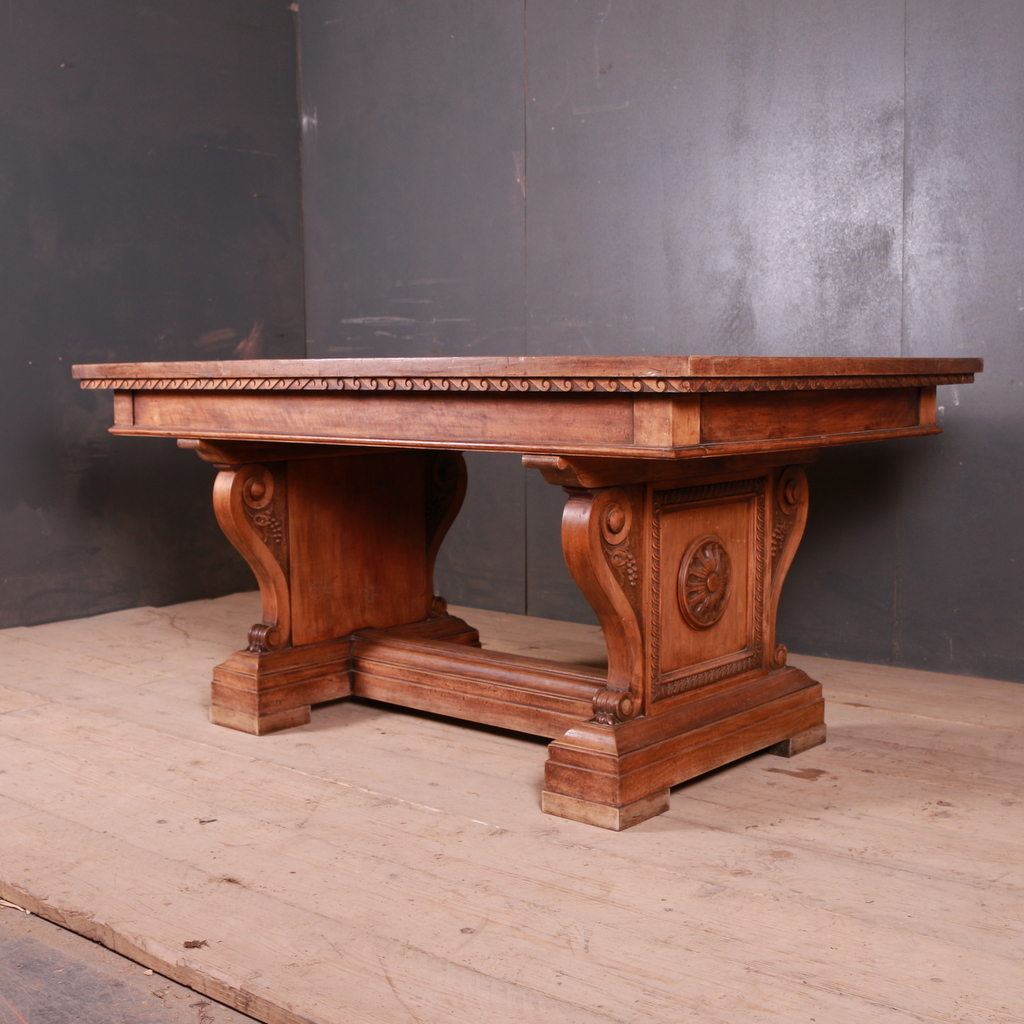 Walnut Centre Table/ Desk