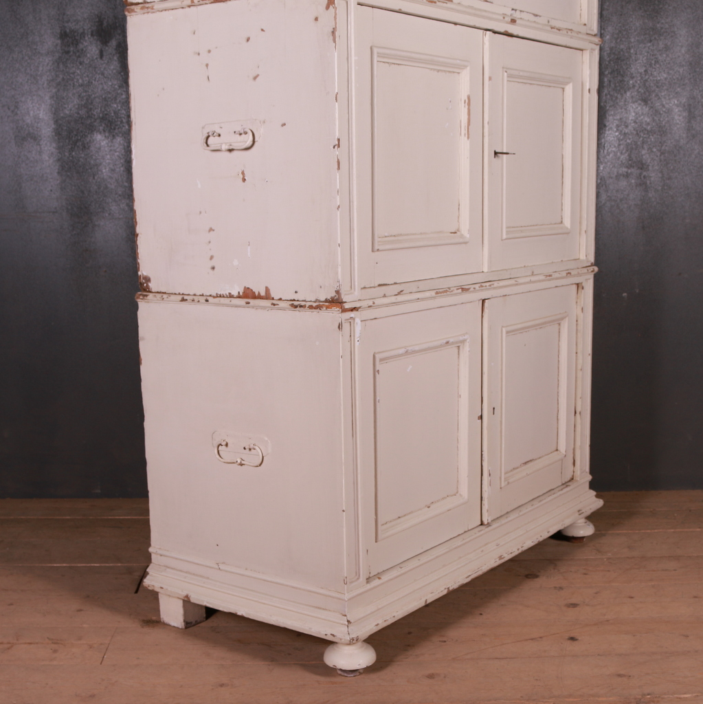 Dutch Pine Linen Cupboard