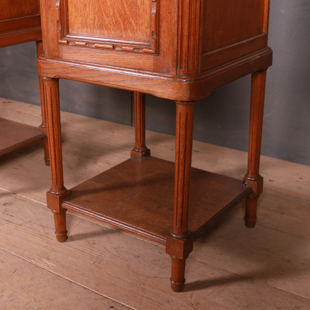 Pair of French Bedside Cupboards