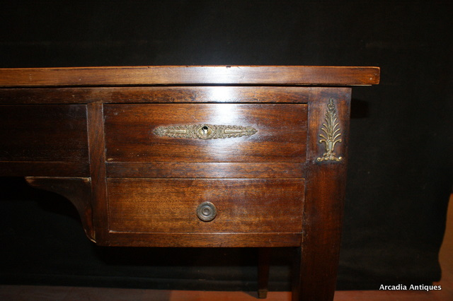 Walnut and Gilt Mounted Desk