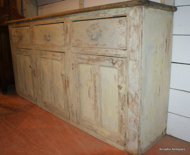 Original Painted Country House Dresser