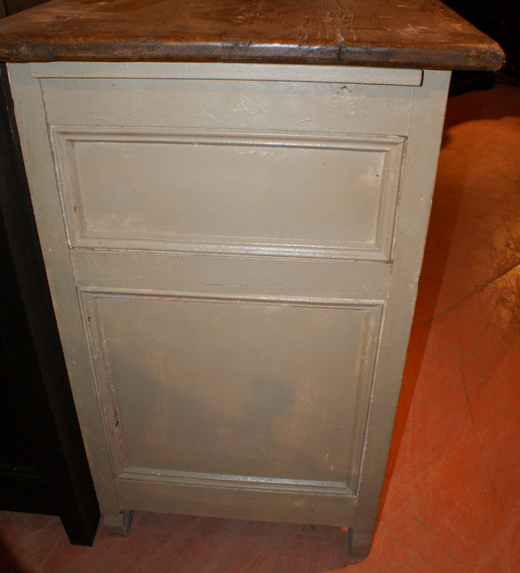 19th C Painted Enfilade