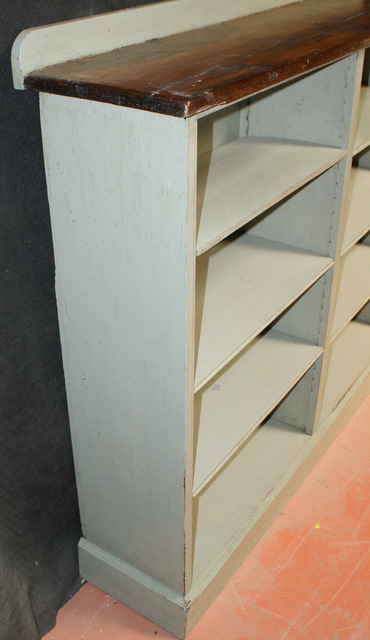 Painted Bookcases.