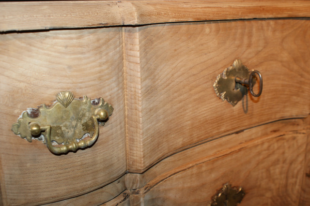 Swedish Bleached Commode.