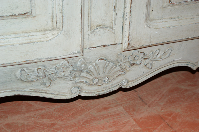 French Painted Buffet.