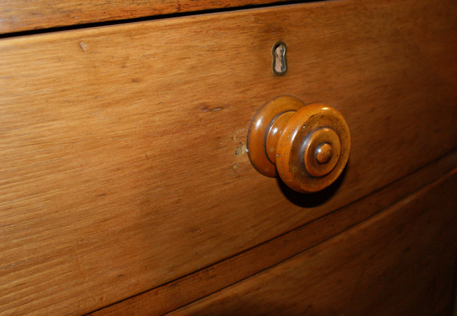 Cornish Pine Bow Front Chest Of Drawers,