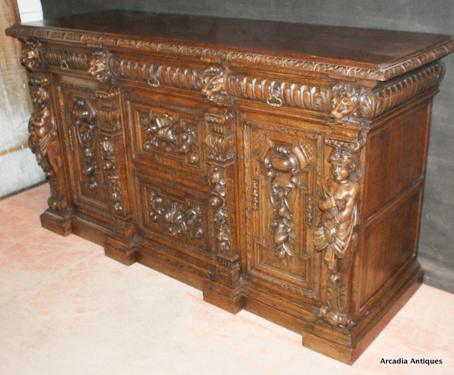 Italian Oak Buffet