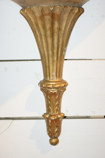 20th C Gilt Hanging Bracket