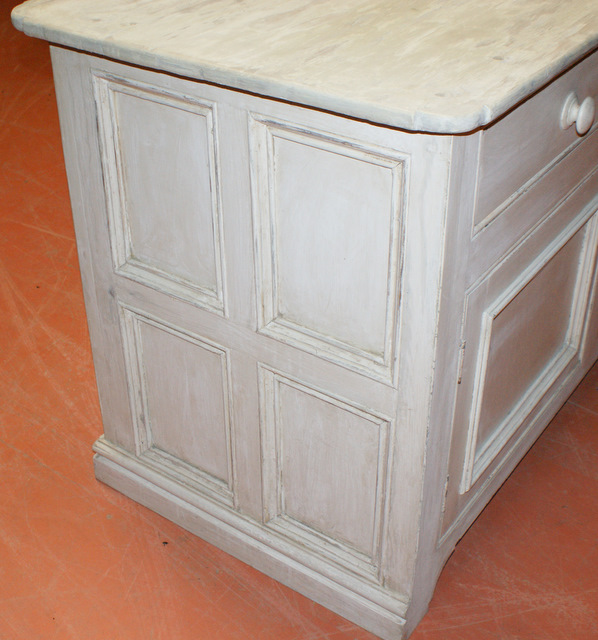 Painted French Counter