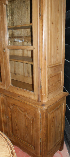 French Pine Bookcase