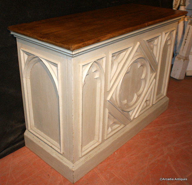Painted Gothic Counter