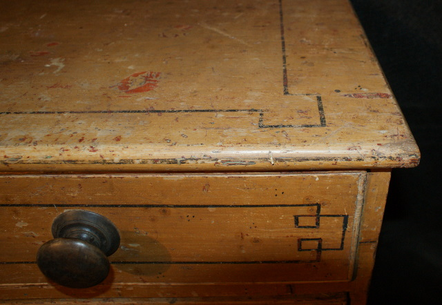 Original Painted Chest of Drawers