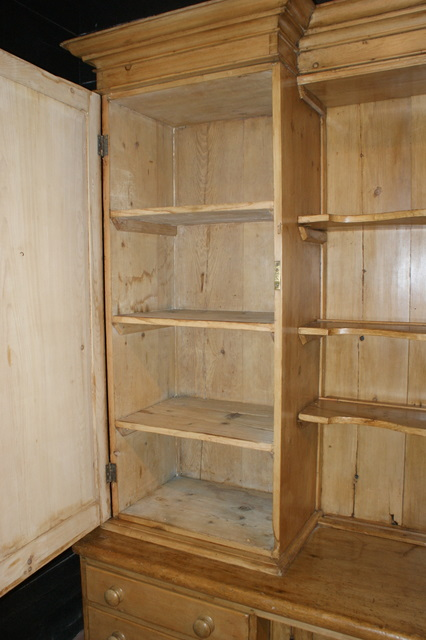 Pine Housekeepers Cupboard
