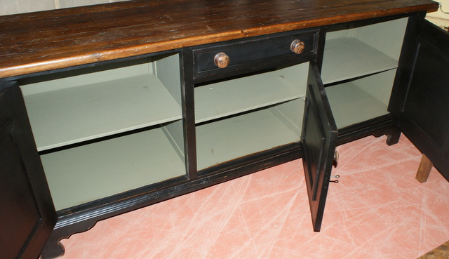 Victorian Painted Dresser Base