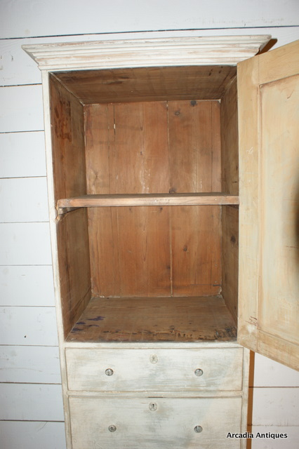 Unusual Narrow Chimney Cupboard