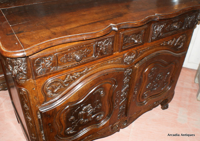 Walnut Buffet from Provence