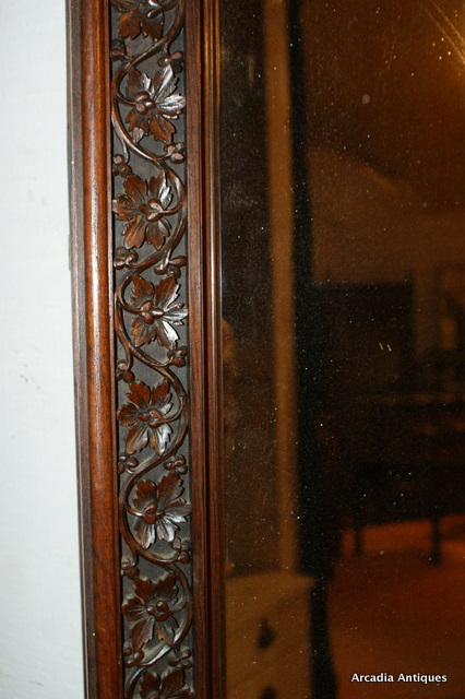 Large Carved Mirror