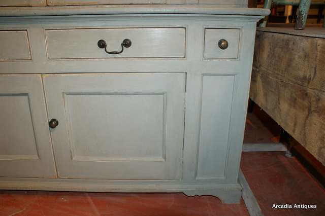 Painted House Keepers Cupboard