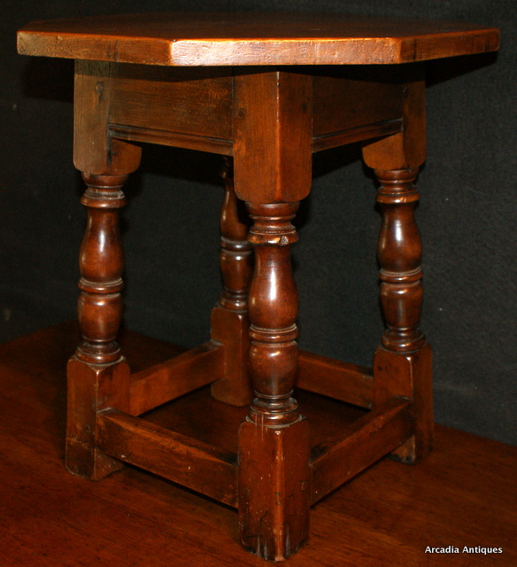 Cherry Low Stool