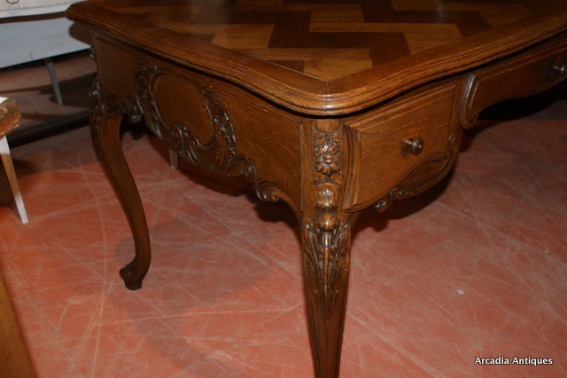 French Oak Desk