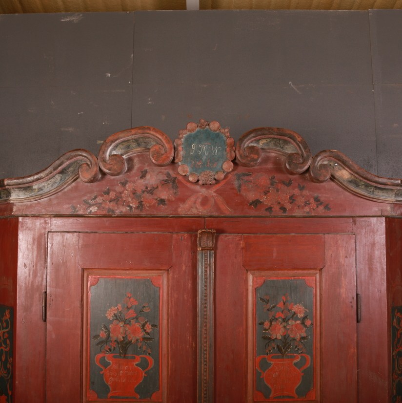 Bavarian Marriage Armoire