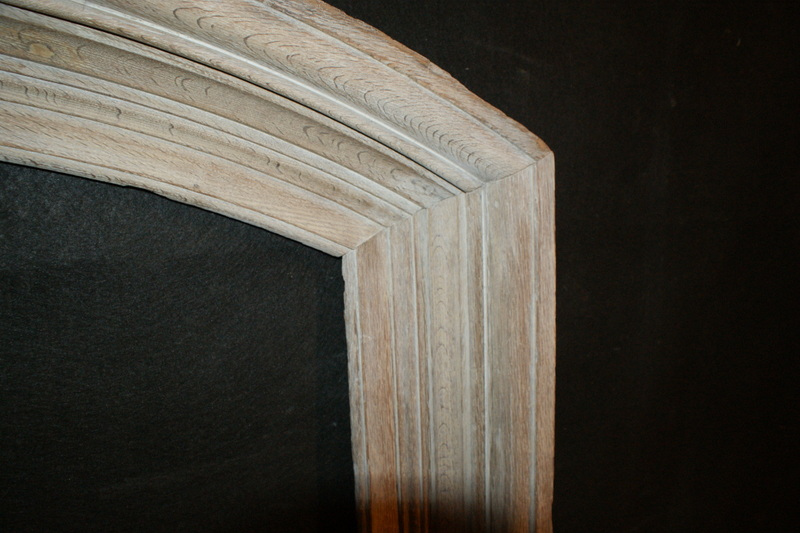 Bleached Mirror Frame