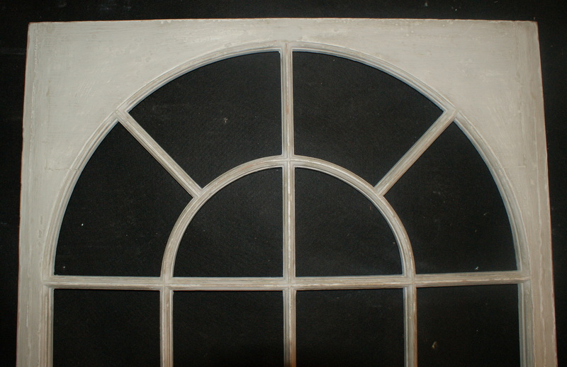 Large Painted Window Frames