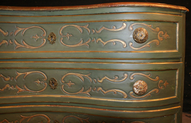Wonderful Serpentine Commode