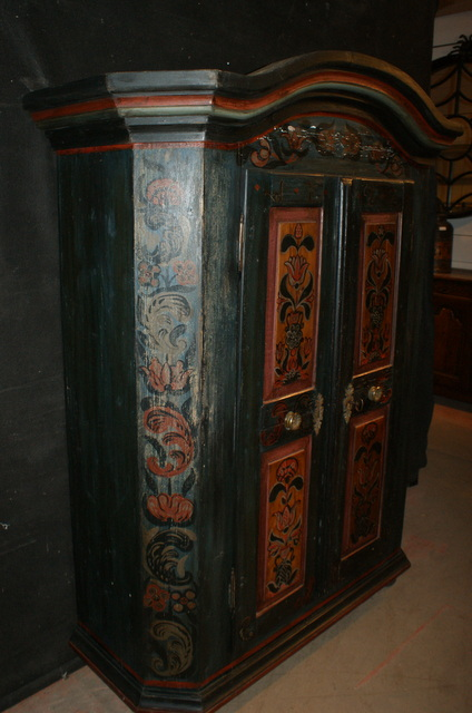 Tyrolean Marriage Armoire