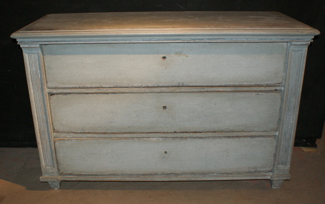 Painted Pine Commode