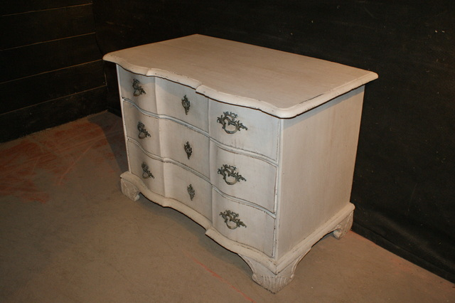 Serpentine Danish Commode