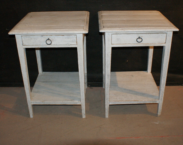 Custom built Bedside / Lamp Tables