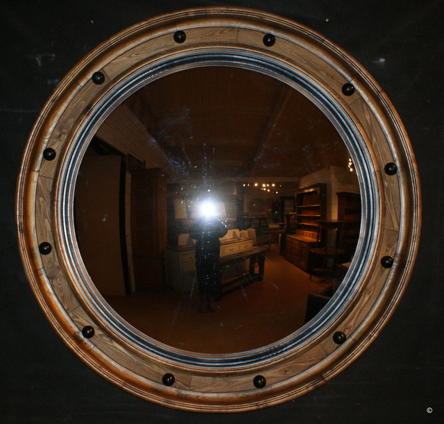 Huge Convex Mirror