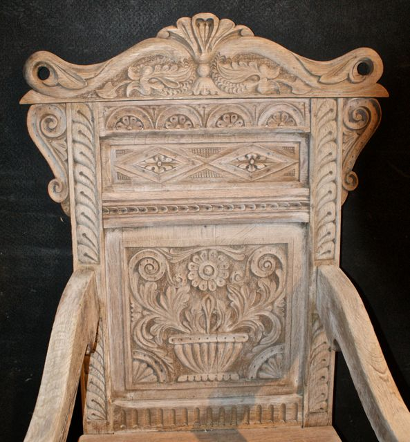 Bleached Wainscot Chair