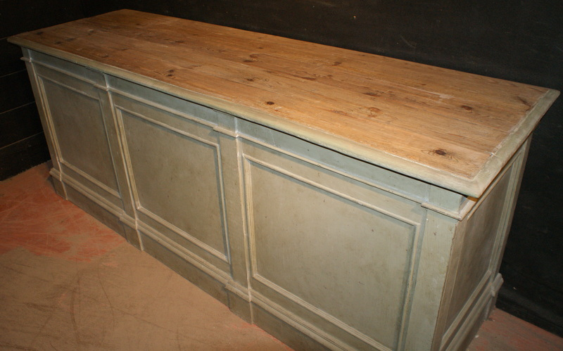 Architectural Shop Counter / Island Unit.