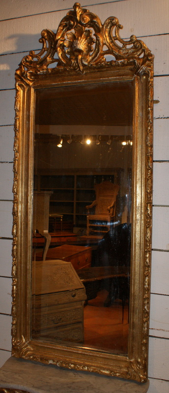 Swedish Mirror and Console.