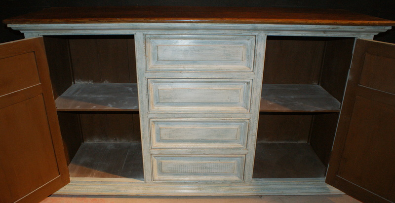 Antique Painted Dresser Base