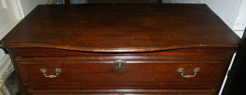 Antique Oak Commode