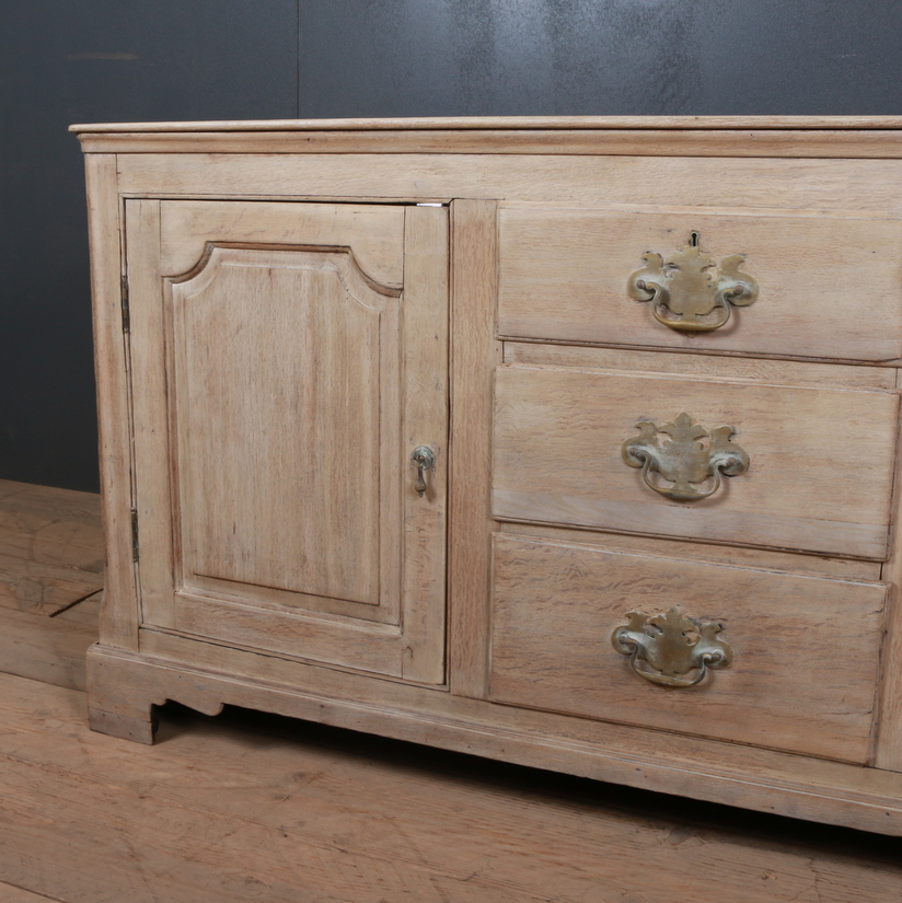 English Oak Dresser Base