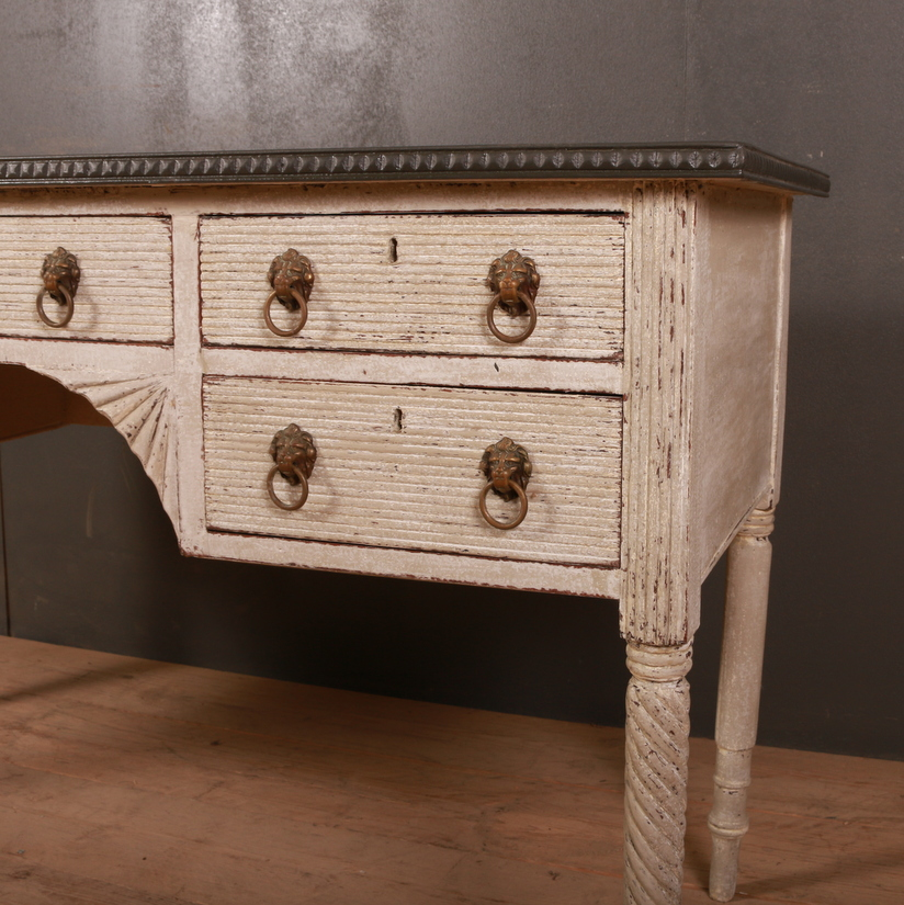English Painted Desk