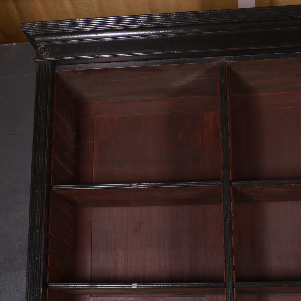English Painted Library Bookcase