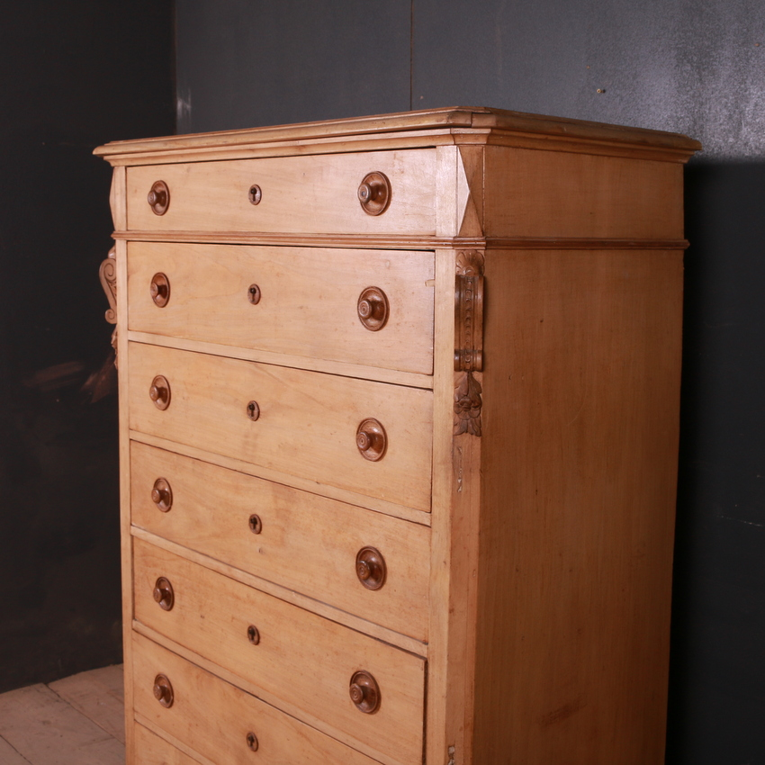 French Narrow Chest of Drawers